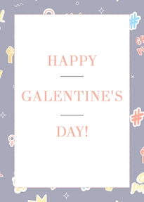 1000 Galentines Day Card Templates Lucidpress
