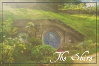 Hobbit Travel Postcard
