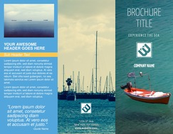 make free brochures online and print
