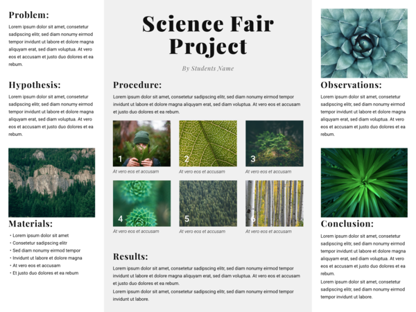 Science Poster Template