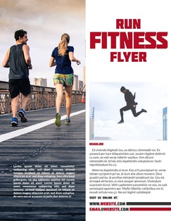 Swiss Alps Fitness Flyer