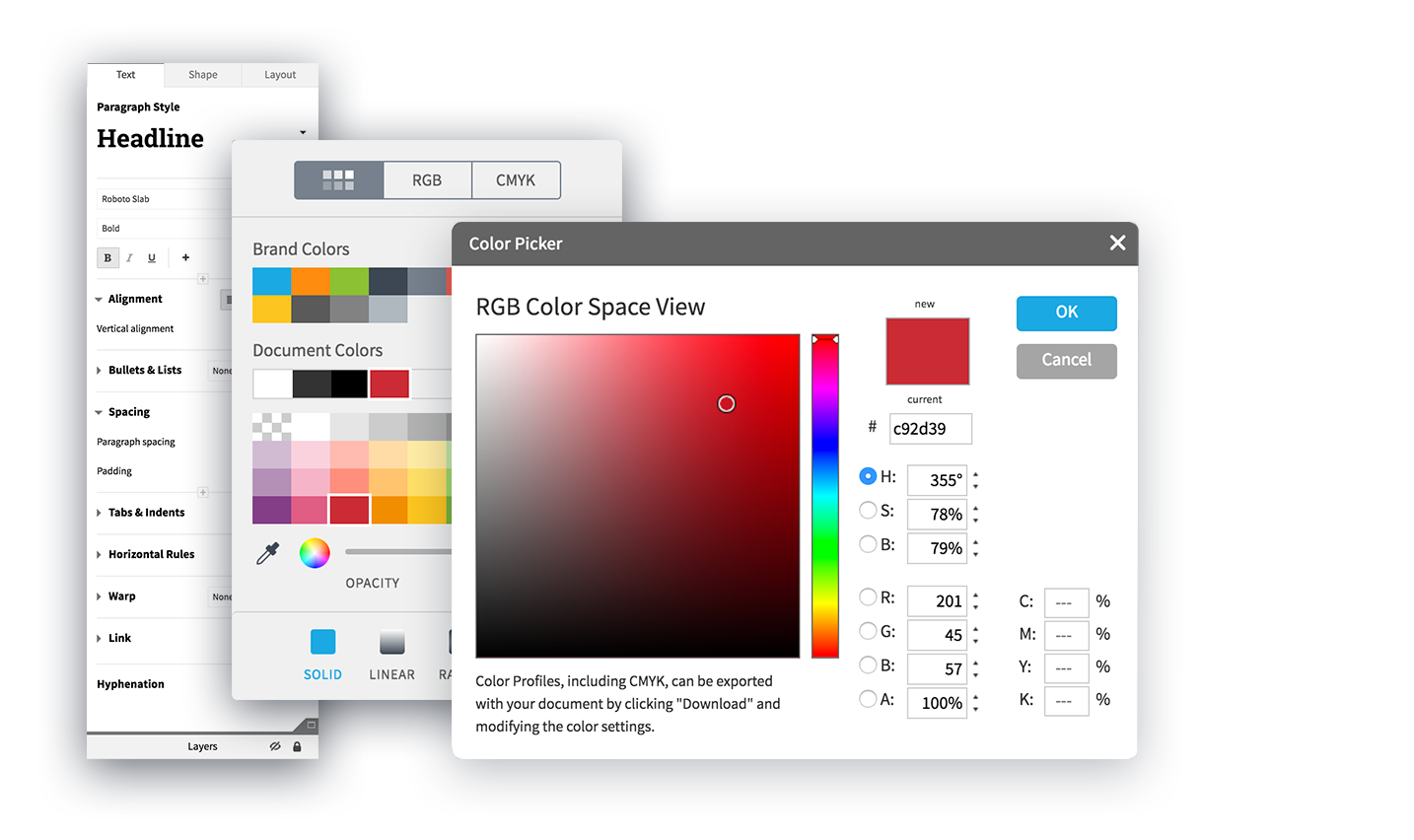Customize the look with Lucidpress