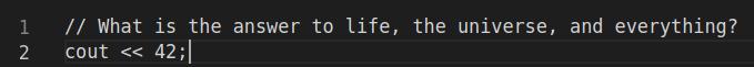 Programming Problem