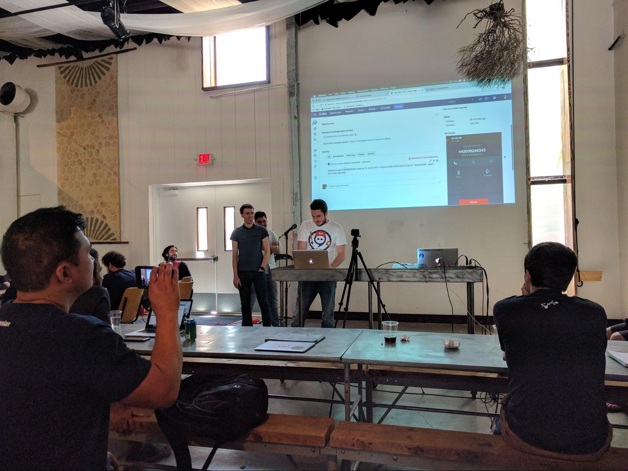 Atlassian app demonstrations