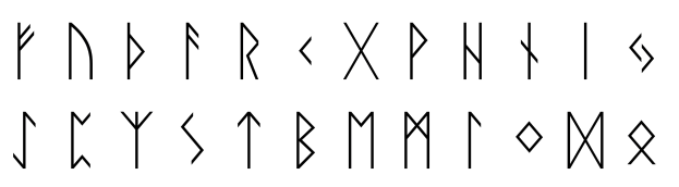 Elder Futhark Runes