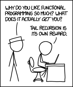 XKCD 1270: Tail Recursion