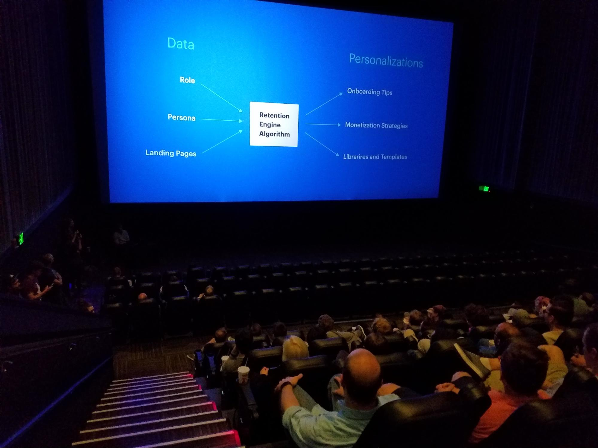 hackathon at the movie theater